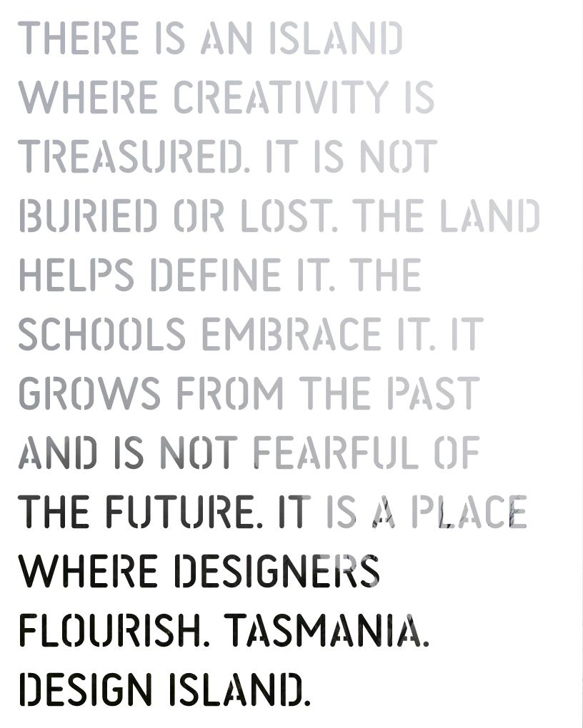 Design Island Tasmania