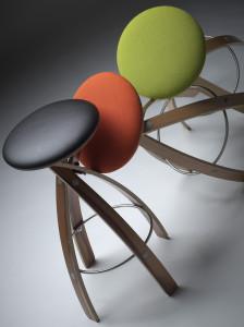 Allan Witt Design Stave Stool